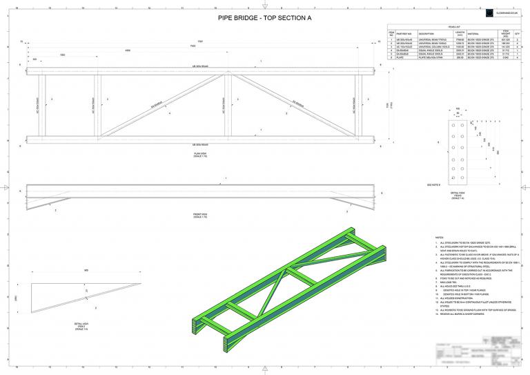 Design service providing 2D CAD & 3D CAD Engineering Design expertise